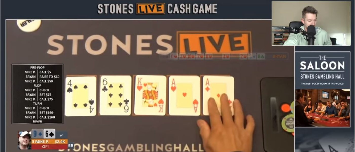 Mike Postle Stones Live Poker Cheating Scandal