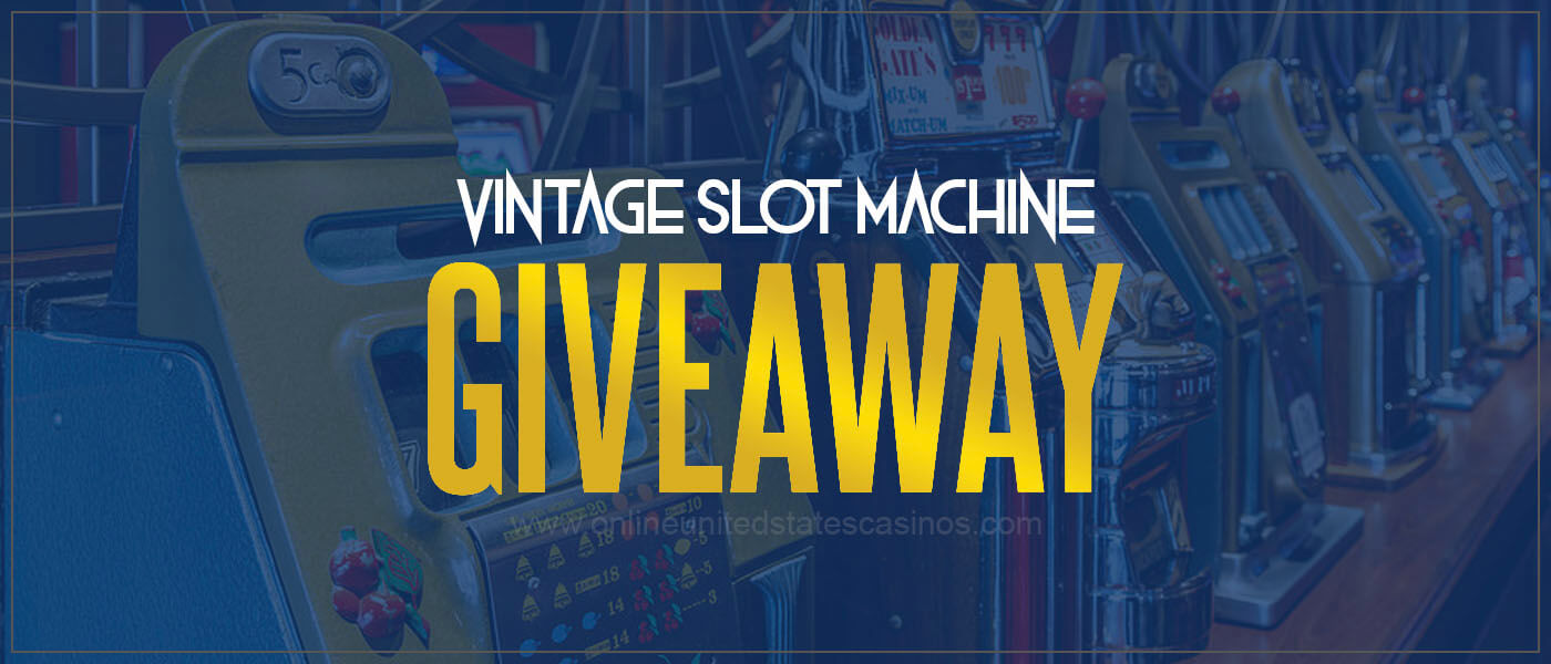 Plaza Casino Vintage Slot Machine Giveaway For Nevada Residents