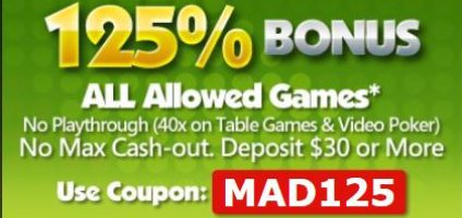 Slot Madness Online Casino VIP All Games Bonus