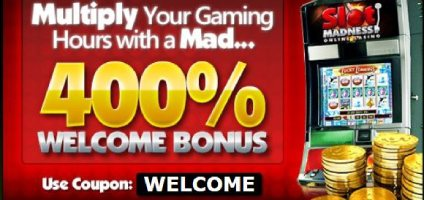 Slot Madness Online Casino Welcome Bonus