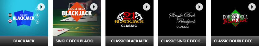 Slots LV Online Casino Real Money Blackjack Games Selection
