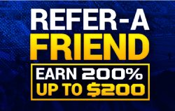 Sportsbetting.ag Refer a Friend Promotion