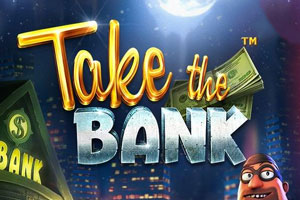 Take the Bank Online Slot Logo