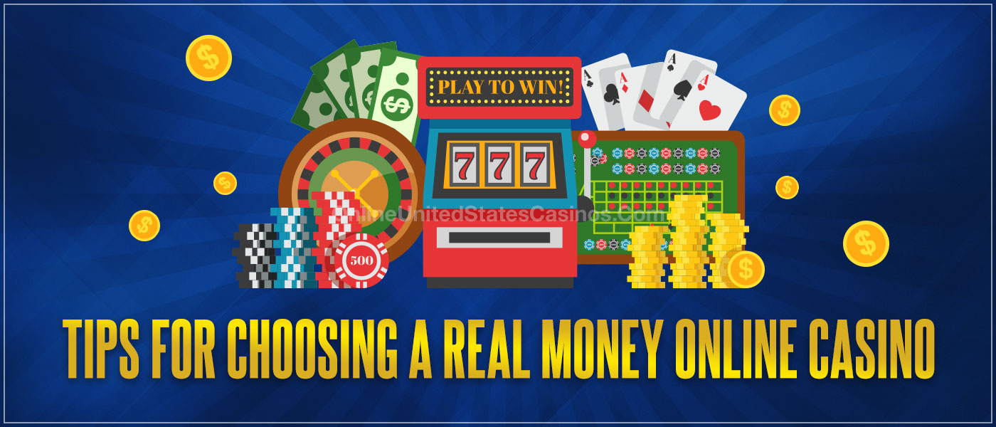 Tips to Picking a Real Money Online Casino Blog Header