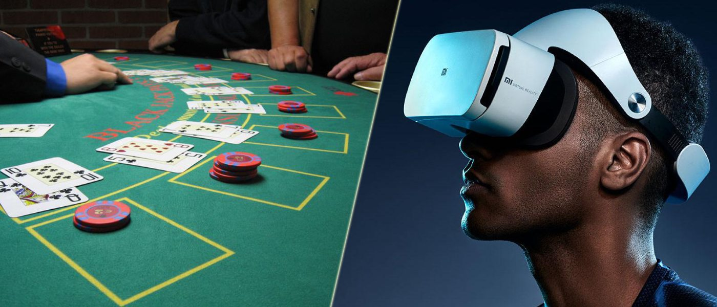 Virtual Reality Online Gambling