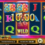 Dragons and Phoenix Online Slot Free Spins