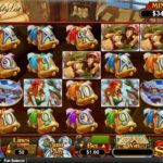 The Naughty List Online Slot Game Board