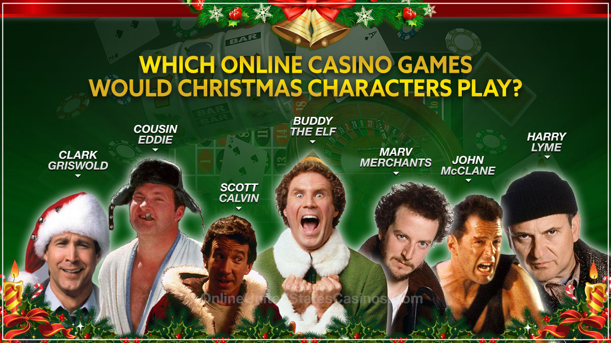Christmas Movie Characters Online Casino Games