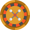 Roulette Games Icon Full Color