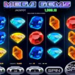 Mega Gems Online Slot Gameplay