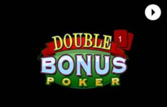 Cafe Casino Video Poker Double Bonus