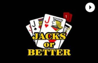 Cafe Casino Video Poker Jacks or Better