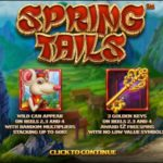 Spring Tails Online Slot Intro