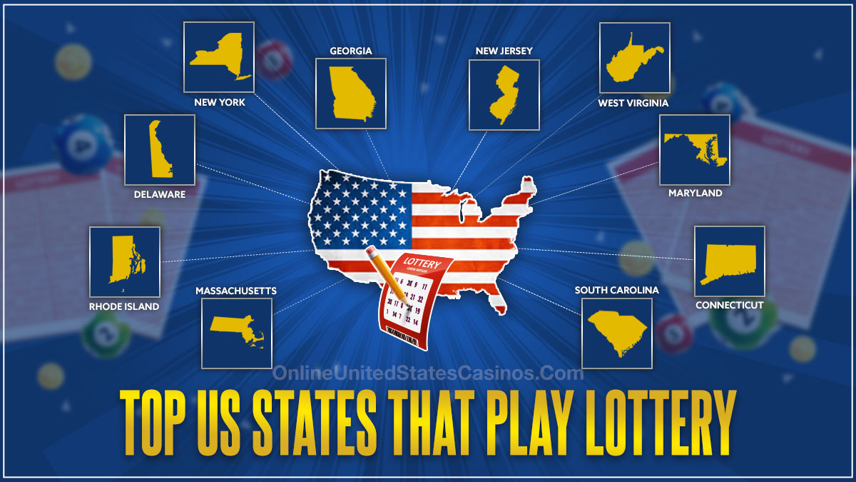 Top US States that Play Lottery