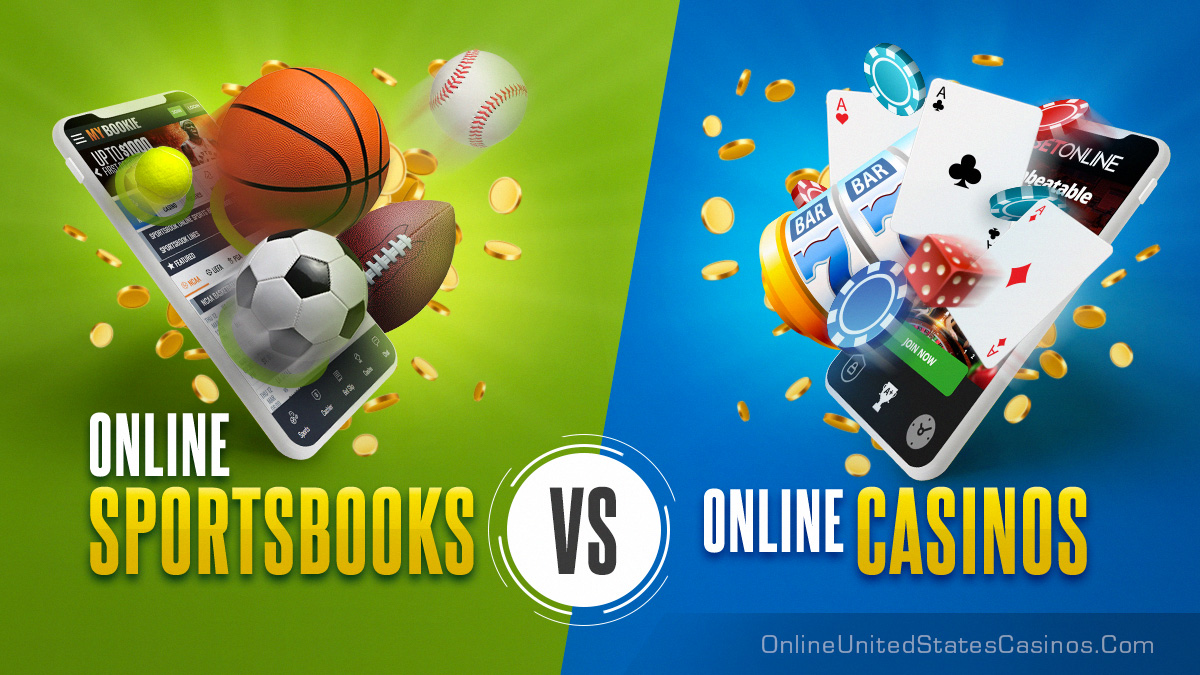 online sportsbooks vs real money online casinos