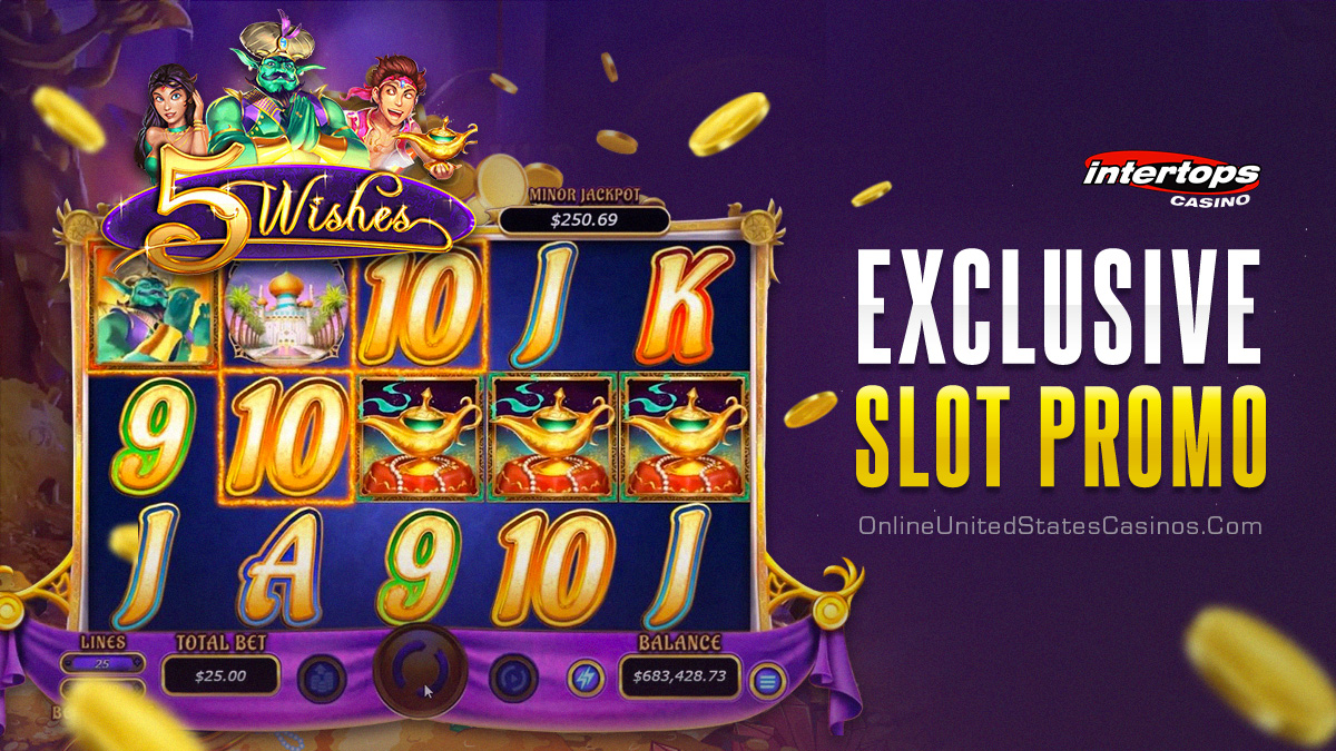 5 Wishes Online Slot Promo