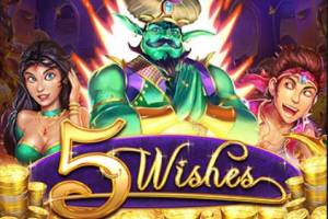 5 Wishes Slot Logo