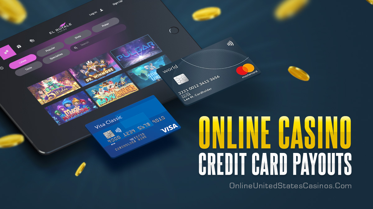 Casino Payout with Credit Cards