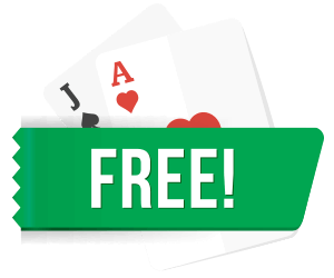 Free Blackjack for Real Money Icon With Cards