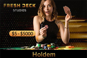 Live Dealer Casino Holdem Fresh Deck Studios