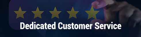 Online Casino Dedicated Customer Service Banner