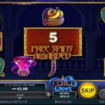 Bottled Wishes Online Slot Free Spins Win