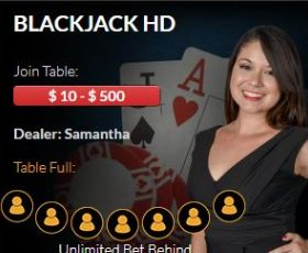 El Royale Casino Live Blackjack HD