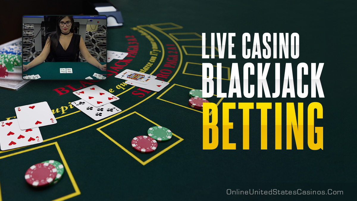 Live Dealer Blackjack Betting