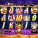 5 Wishes Online Slot Game Board