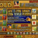 Cleopatras Gold Online Slot Paytable