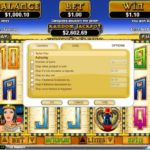 Cleopatras Gold Online Slot Player Control
