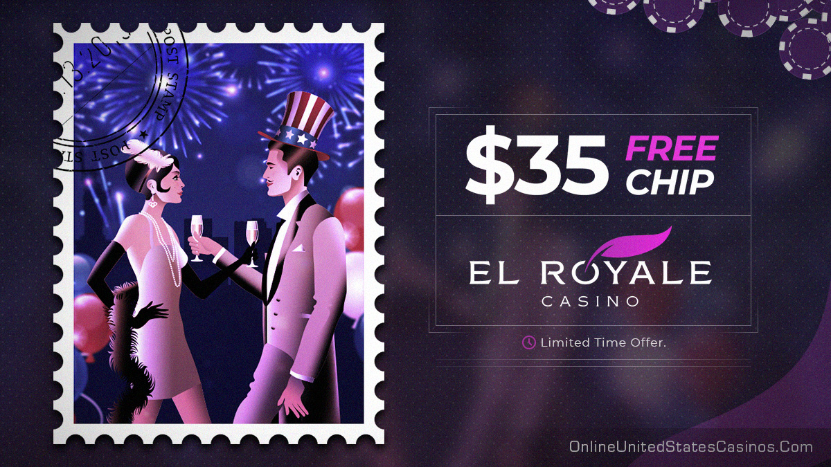 El Royal $35 Free Chip No Deposit Bonus