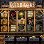 Gold Diggers Online Slot Gameplay