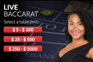 Wild Casino Live Dealer Red Baccarat
