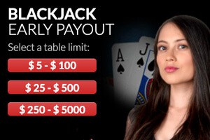 Wild Casino Live Dealer Red Blackjack