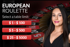 Wild Casino Live Dealer Red Roulette