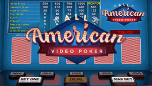 BigSpin Casino Review Video Poker Games American Poker