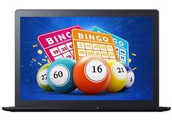 Real Money Lottery Casino Games Bingo on Laptop