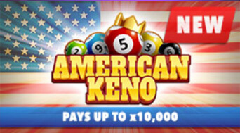 BetOnline Casino New Specialty Game American Keno