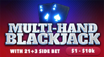 BetOnline Casino Table Game Multihand Blackjack