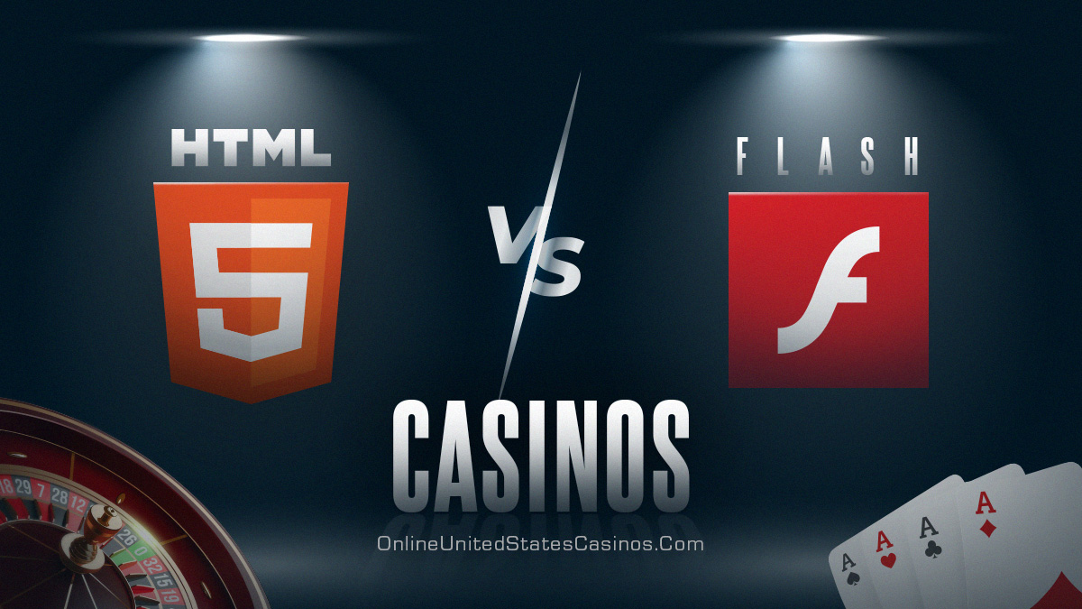 HTML5 vs flash casinos