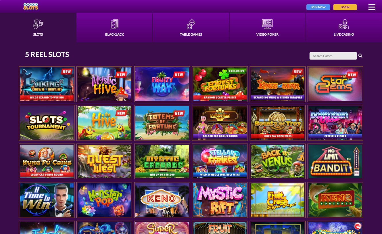 Super slots casino play lord of the rings casino game online