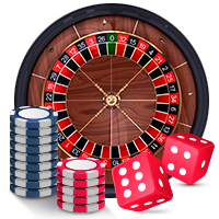 Live Roulette Real Money Wheel and Poker Chips