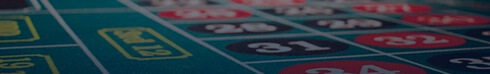Live Casino Roulette Table Banner
