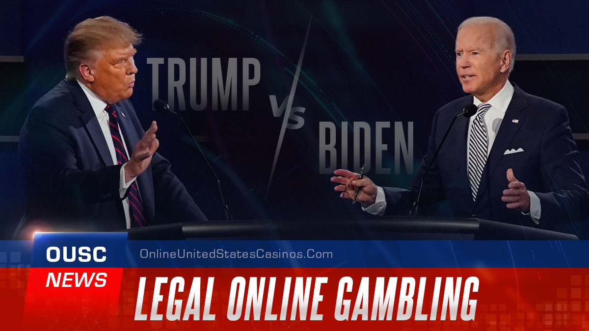 Trump vs Biden Legal Online Gambling
