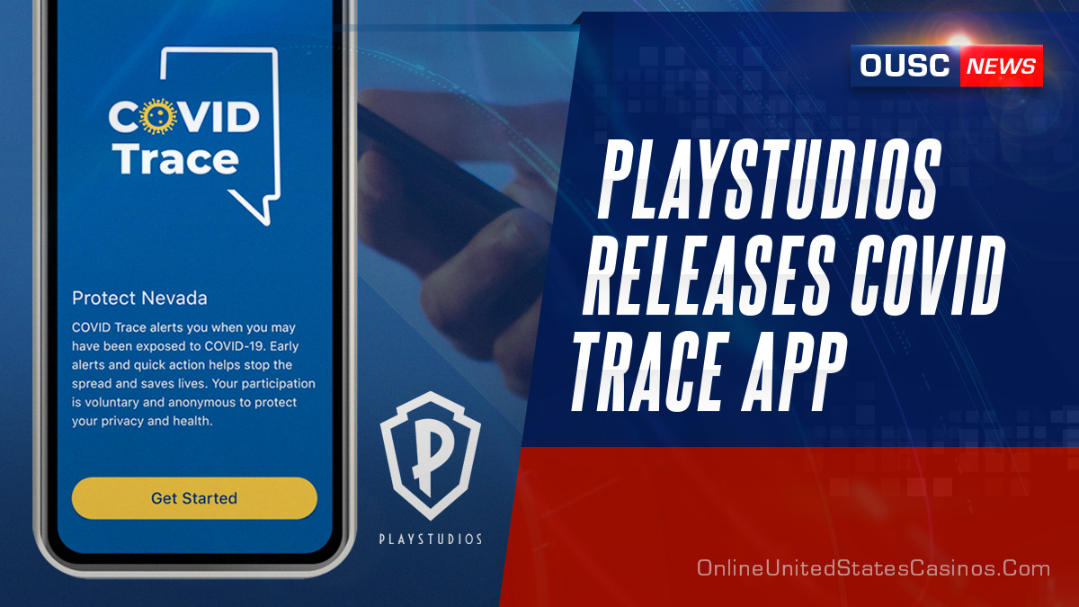 playstudios releases COVID trace app