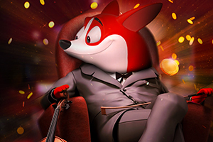 Red Dog Casino Best Online Mobile Casino Character in Chair