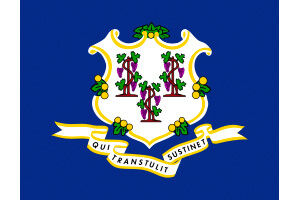 Connecticut Gambling Laws State Flag Icon