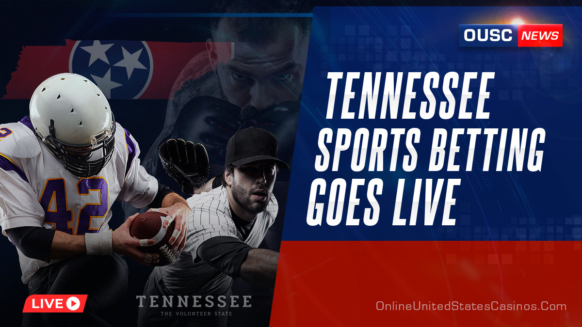 Tennessee Sports Betting Goes Live Casino News