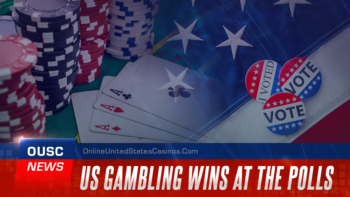 US gambling wins at the polls